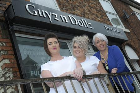 Hair salon gives itself a makeover to mark 9th anniversary